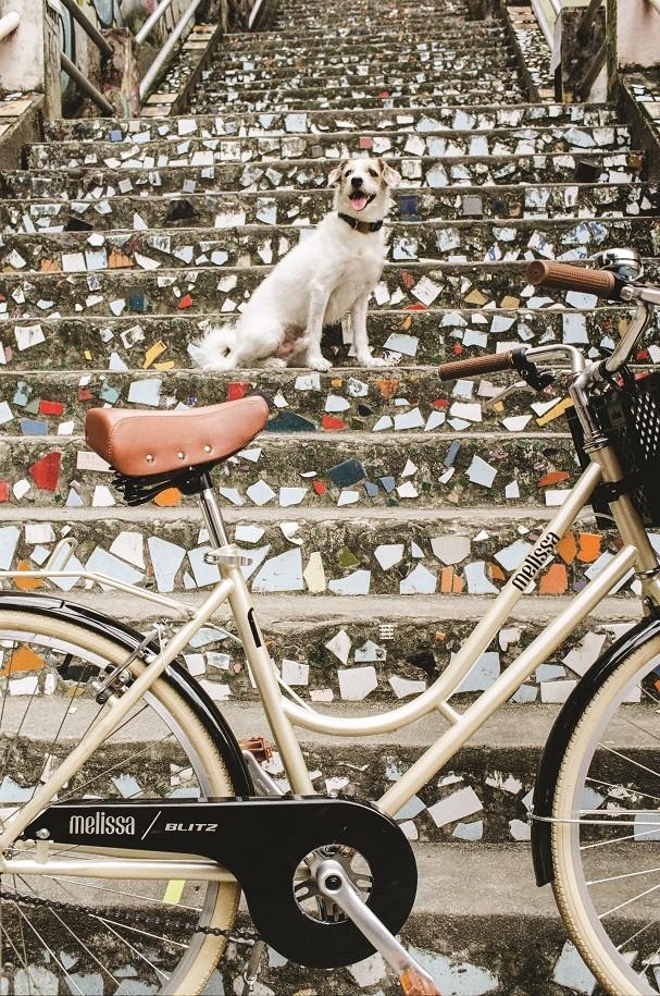 Bicicleta Melissa e Blitz (Foto: Divulgação)