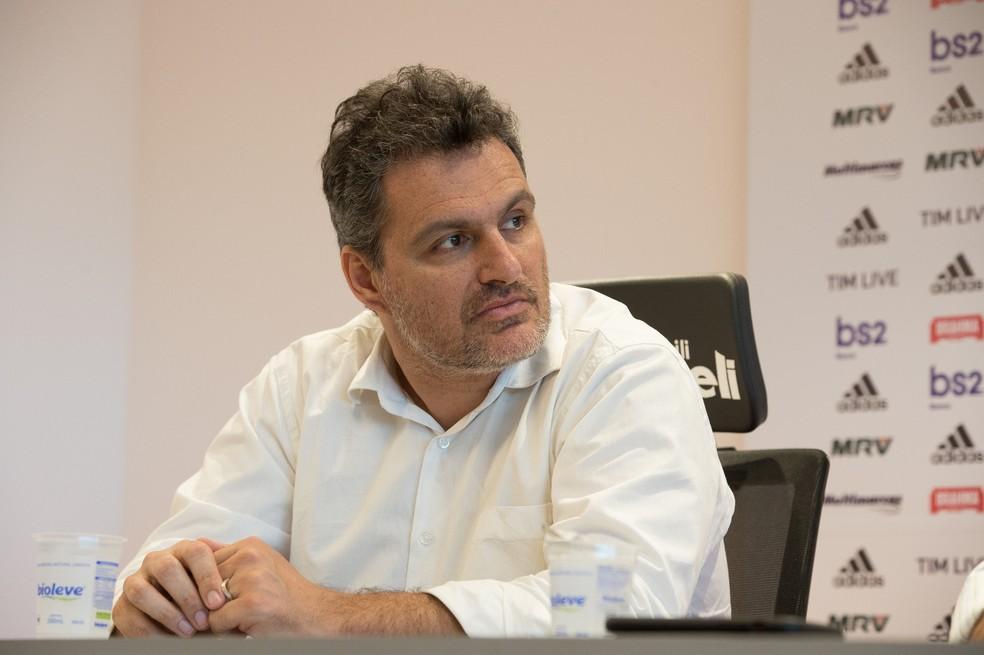 Bruno Spindel é o novo diretor executivo do Flamengo — Foto: Alexandre Vidal / Flamengo
