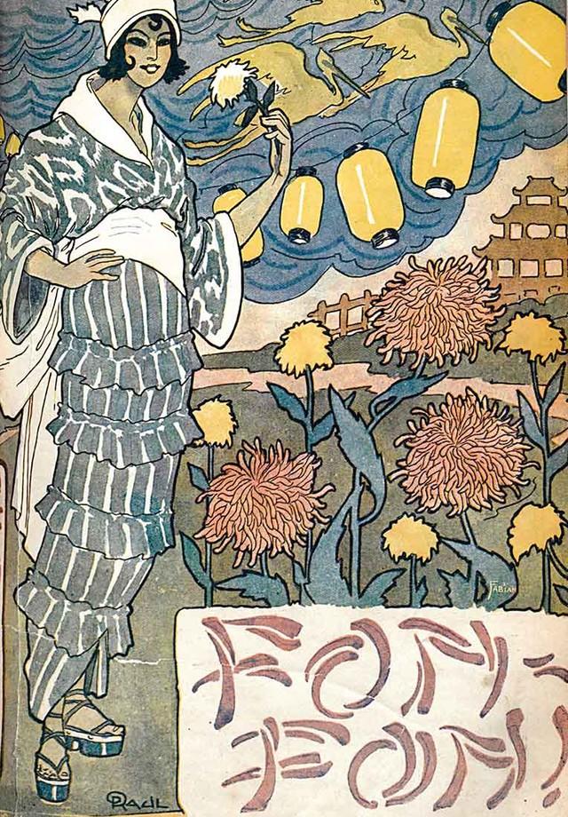 Imagem publicada na revista Fon-Fon!, em 1915 (Foto: Divulgação)