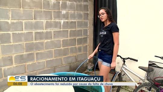 Racionamento de água afeta moradores de Itaguaçu, ES