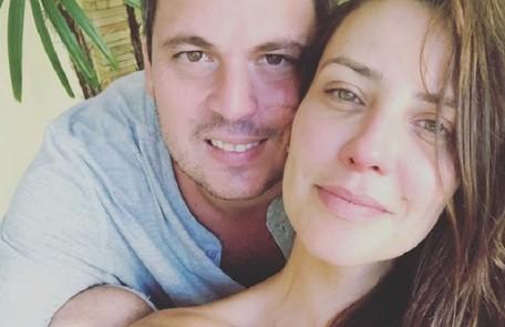 Camila Rodrigues apareceu pela primeira vez com o novo namorado, Vinicius Campanário, este mês Reprodução/Instagram