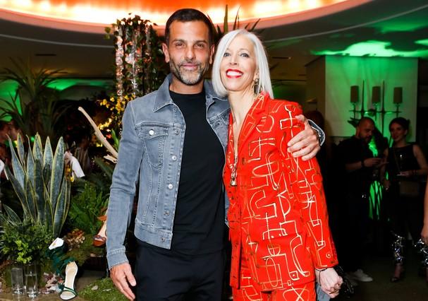 Alexandre Birman, Linda Fargo (Foto: Samantha Deitch/BFA.com)