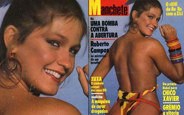 Xuxa em versão pré-apresentadora infantil (Foto: Reprodução)