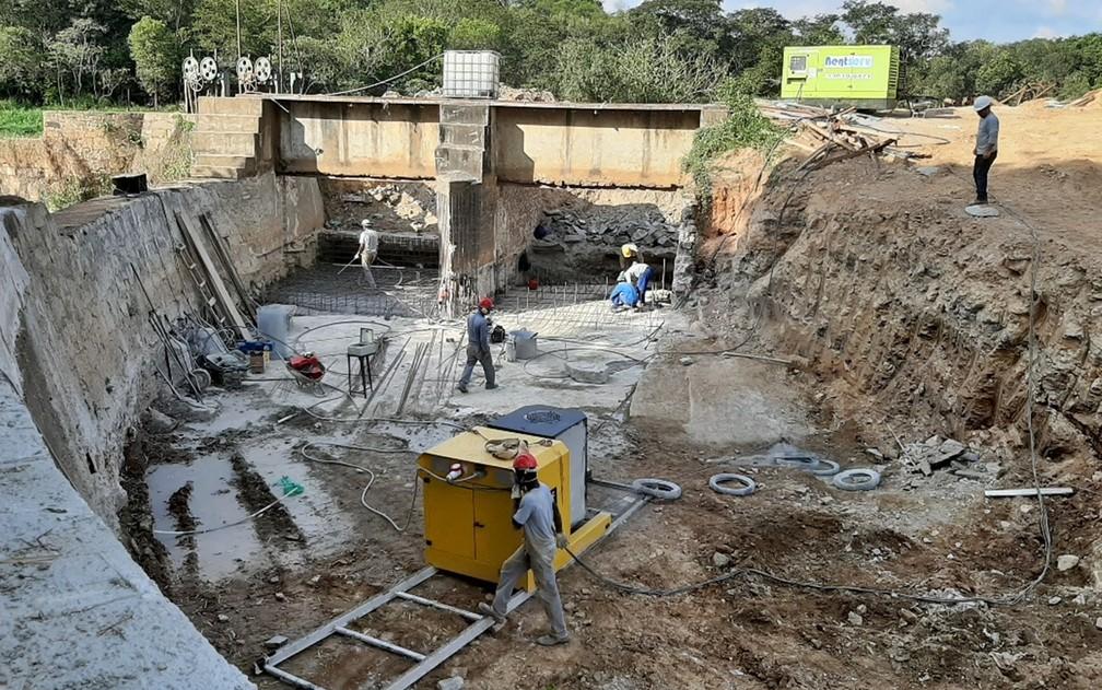 Patrimônio cultural, usina hidrelétrica desativada é restaurada e vai voltar a gerar energia em Varginha — Foto: Danielle Guimarães