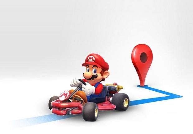 """Google Maps vai lançar a ferramenta """"Mario Time"""" (Foto: Divulgação)"""