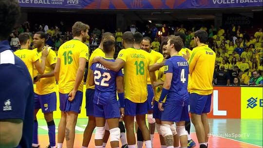 Líder, Brasil vira sobre a Itália e vai embalado para finais da Liga das Nações; confira os grupos