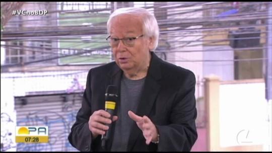 """Ivo Amaral, sobre permanência de Eudes Pedro no Remo: """"Só com um milagre da Santinha"""""""