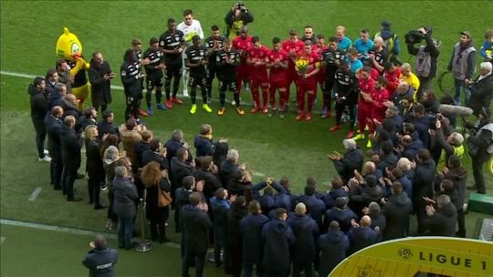 Sala é homenageado por Nantes e torcedores no primeiro jogo depois de confirmação da morte
