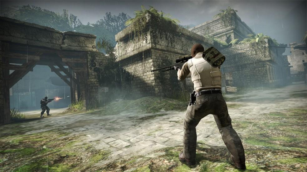 """O modo Deathmatch, também conhecido como """"mata-mata"""", é uma opção para treinar a mira  — Foto: Divulgação/Valve"""