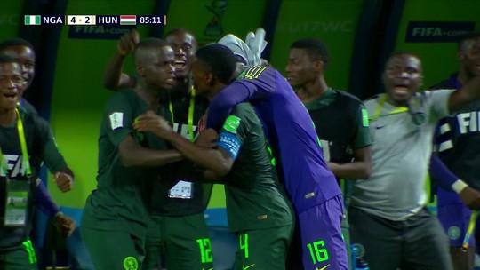 Nigéria sofre mas sai na frente no S-17