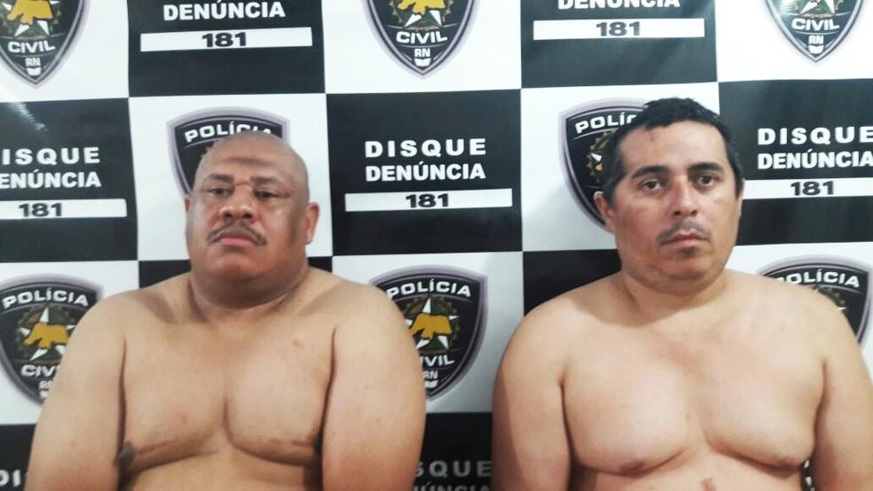 Adilson Lima da Cruz e Creginaldo da Cunha Santos (Foto: Polícia Civil)