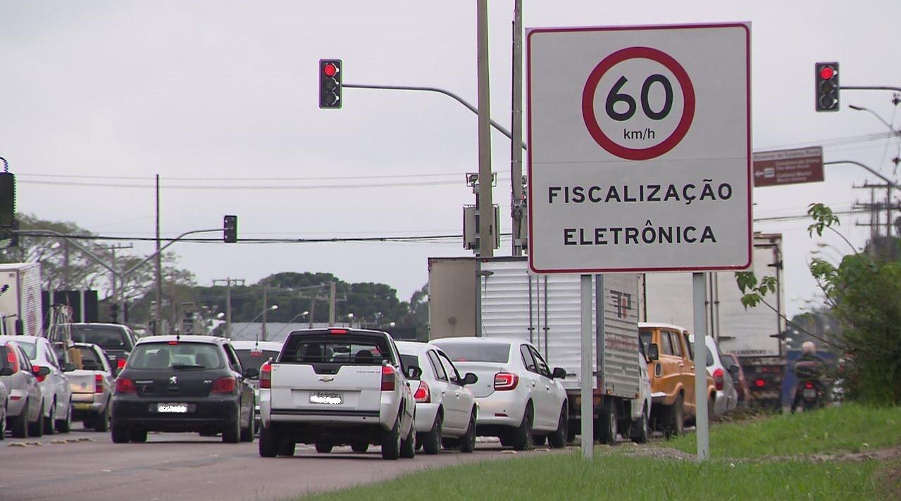 Contorno Sul de Curitiba tem radares desligados - Noticias