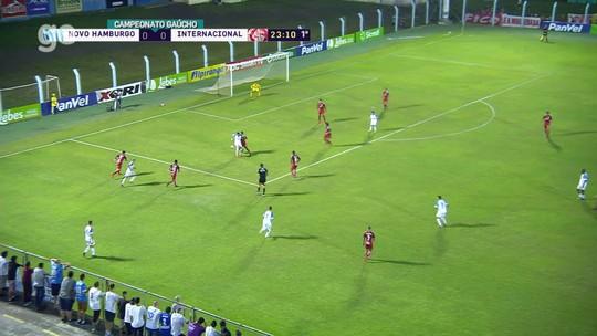 Confira os melhores momentos de Novo Hamburgo 0x2 Inter no Vale