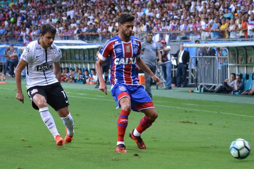 Juninho Capixaba se destacou pelo Bahia  (Foto: Marcelo Malaquias / Divulgação / EC Bahia)