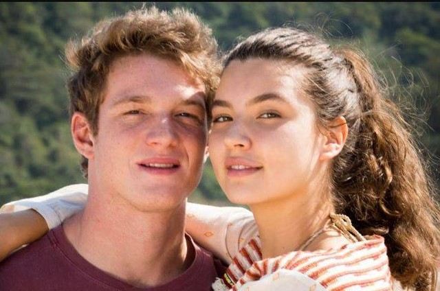 Pedro Novaes e Alanis Guillen são Filipe e Rita em 'Malhação' (Foto: TV Globo)