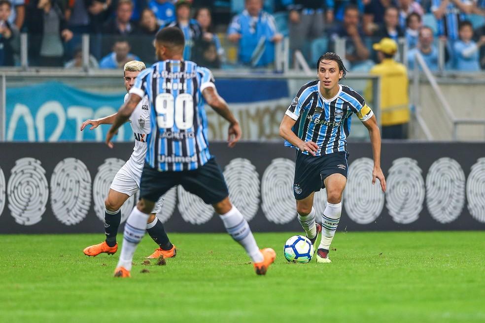 Geromel voltou após a Copa e foi um dos melhores em campo (Foto: Lucas Uebel / Grêmio, DVG)