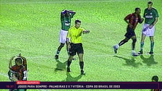 Baú do Esporte: Jogos para sempre Palmeiras x Vitória pela Copa do Brasil de 2003