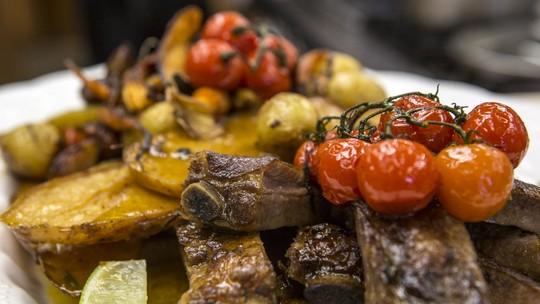 Costelinha de porco do chef Ravioli
