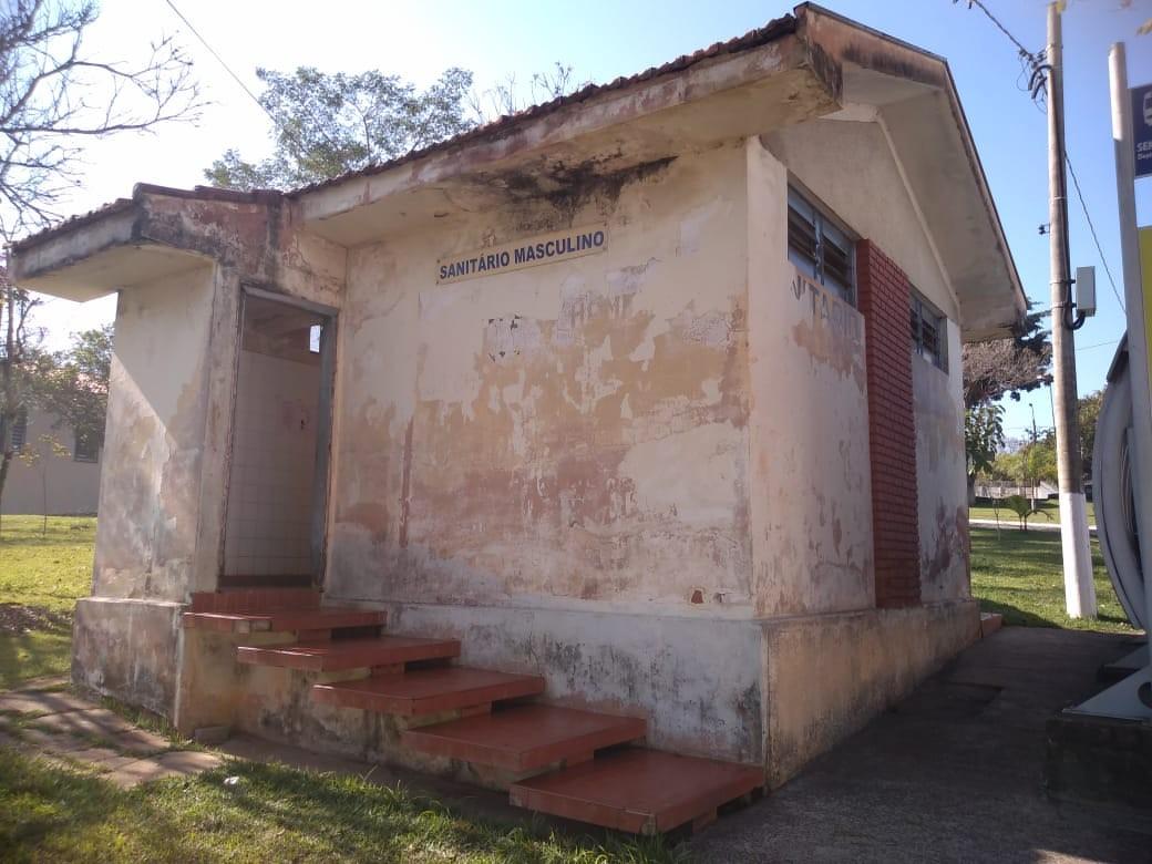 Sanitários públicos de distrito de Piracicaba têm reforma iniciada