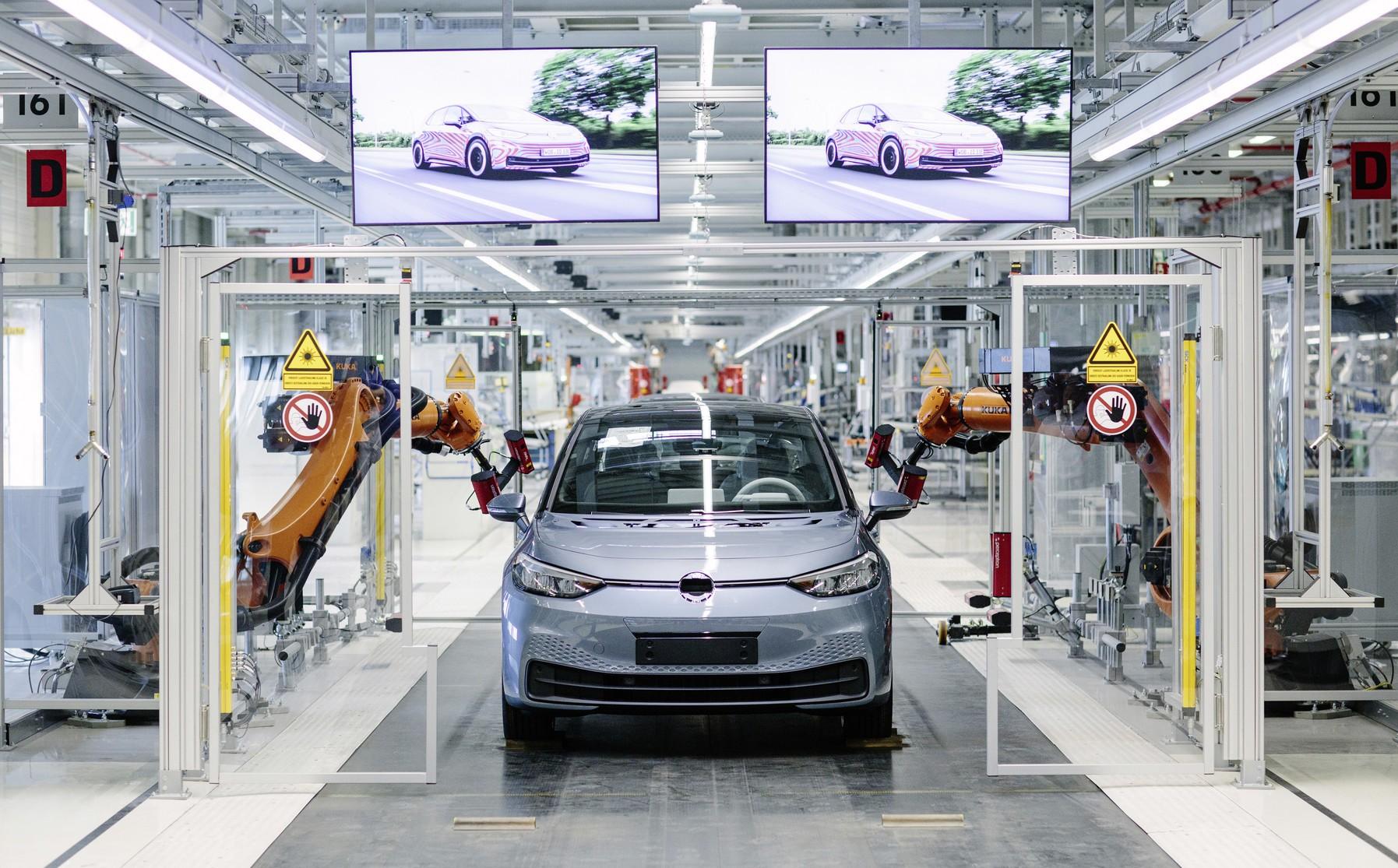 Fábrica da Volkswagen na Alemanha (Foto: Divulgação)