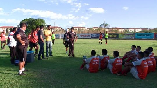"""Em chegada ao River-PI, técnico do sub-19 fala de filosofia para a Copinha: """"Futebol mais técnico"""""""