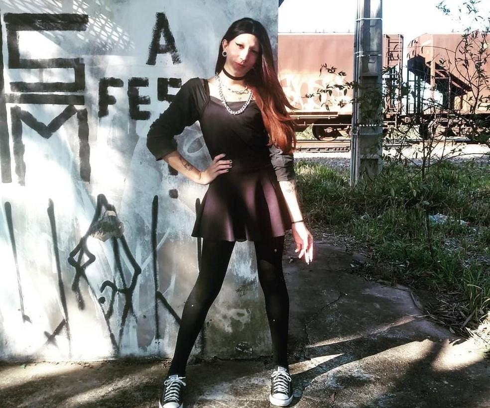 Luara Redfield estava desaparecida desde o dia 10 de agosto em Mairinque  — Foto: Instagram/Reprodução