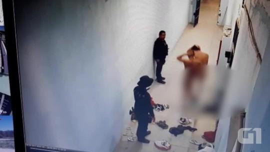 Presos do Piauí passam mais de 24h sem comer, são agredidos e obrigados a ficar nus; veja vídeo