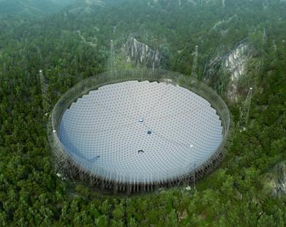 China conclui inauguração do maior telescópio do mundo