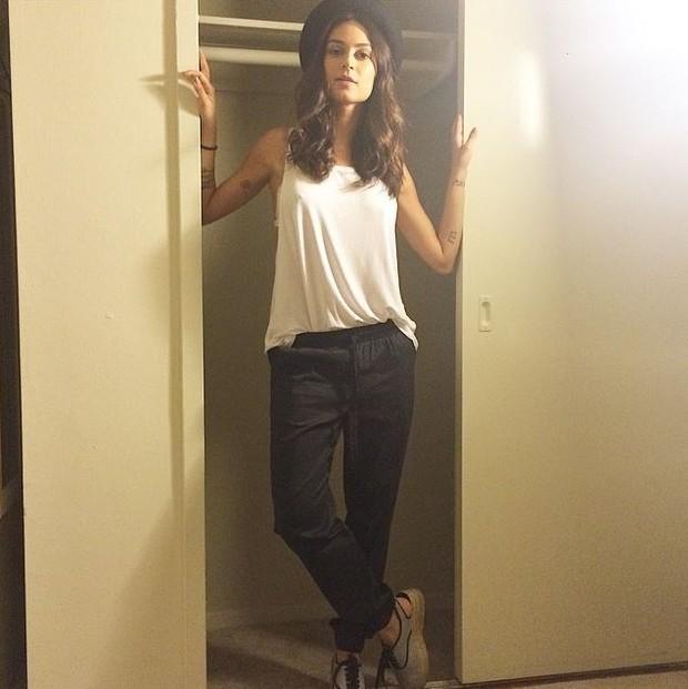 Thaila Ayala posou em seu apartamento quando se mudou (Foto: Instagram / Reprodução)