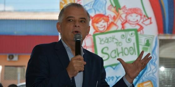 O vice-governador de São Paulo Márcio França (Foto: Reprodução/Facebook)