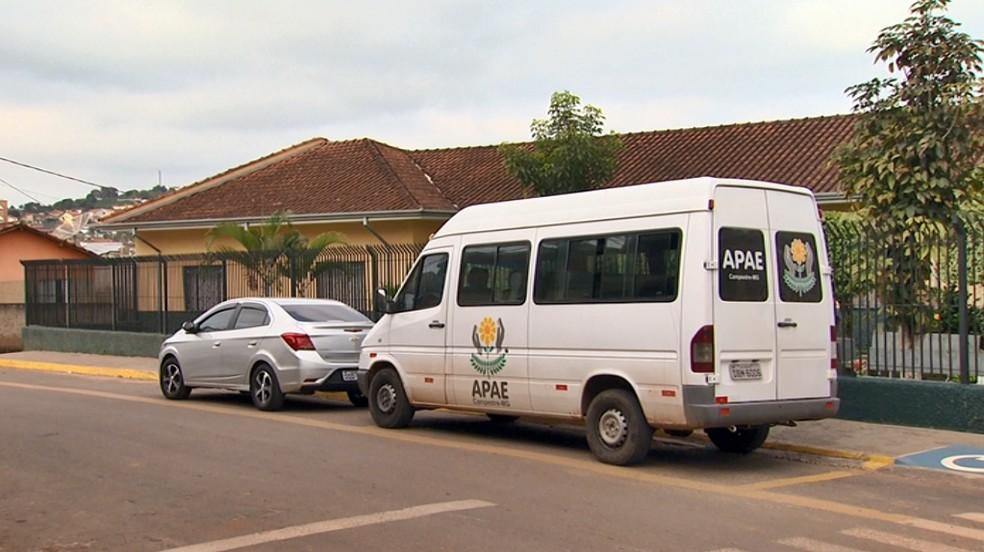 Motorista de Apae é preso suspeito de abuso sexual em Campestre — Foto: Reprodução EPTV