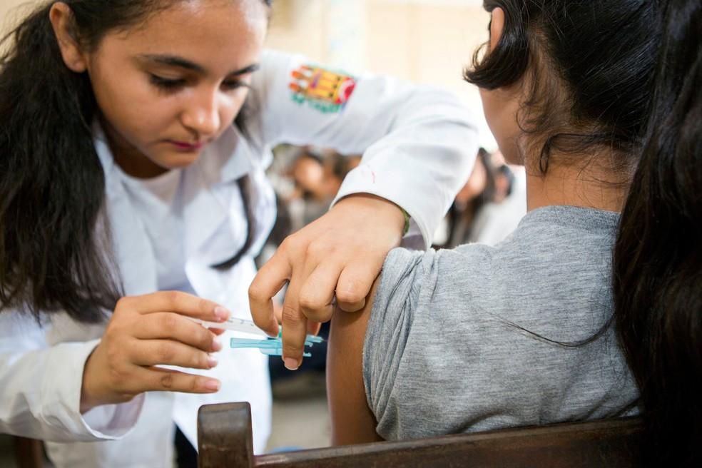 Vacina de HPV está disponível na rede pública de saúde (Foto: Ascom Sespa)