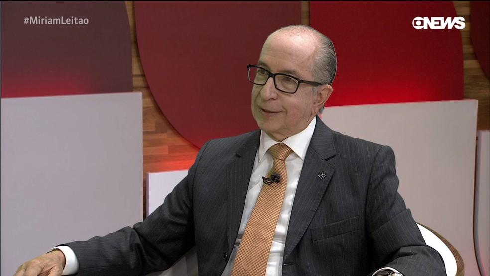 O secretário-especial da Receita, Marcos Cintra — Foto: Reprodução/GloboNews