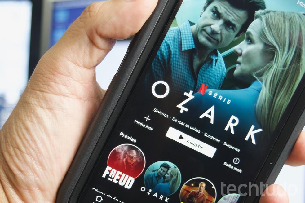 Netflix lidera setor de streaming durante pandemia — Foto: Marvin Costa/TechTudo