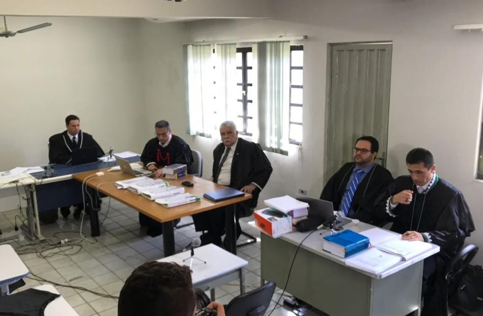 Apenas juiz, defensores, MP, conselho de sentença e acusado estarão no local (Foto: Aniele Brandão/G1)
