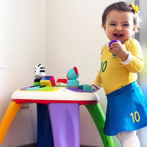 Antonella, filha de Li Martins (Foto: Reprodução/Instagram)
