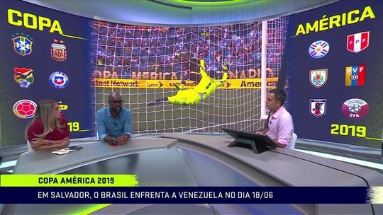 Analistas debatem sobre sorteio da Copa América: 'Não poderia ser mais fácil'