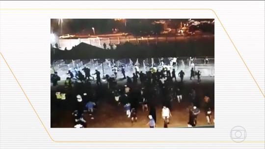Torcedores do Cruzeiro são detidos após confusão no Mineirão