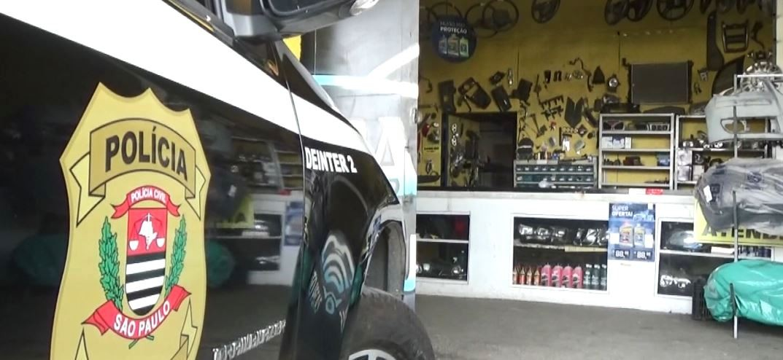 Polícia Civil e Detran-SP fazem operação contra comércio ilegal de autopeças em Campinas