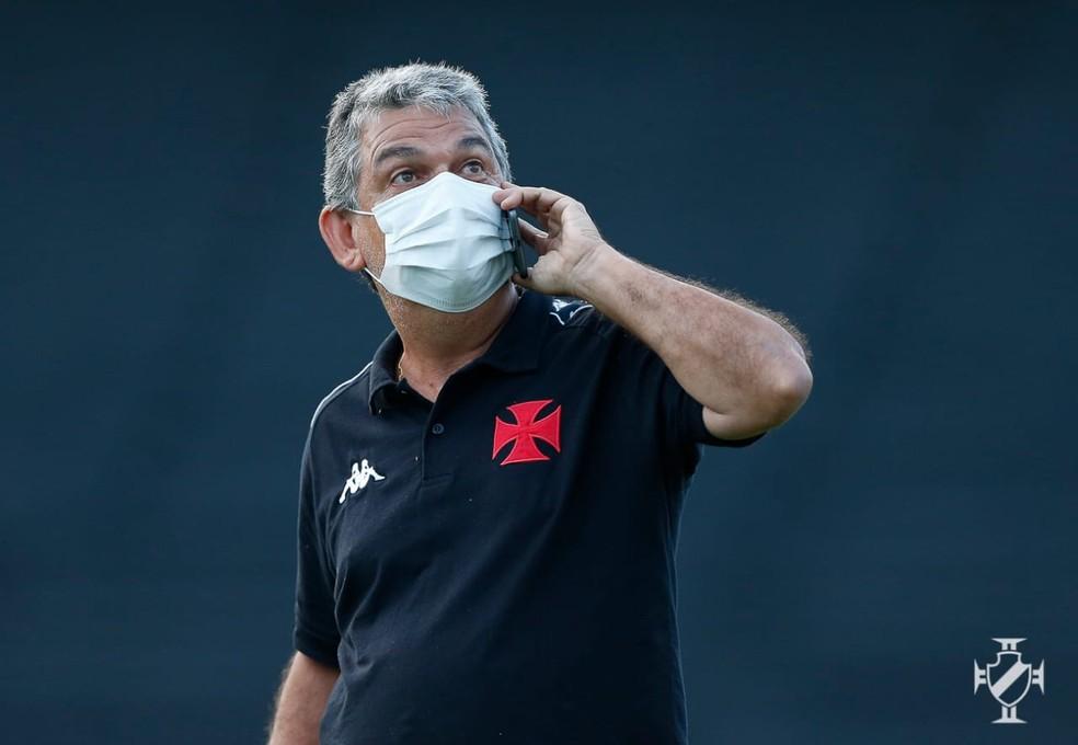 Carlos Brazil é diretor executivo de futebol da base do Vasco desde 2018 — Foto: Rafael Ribeiro/Vasco da Gama
