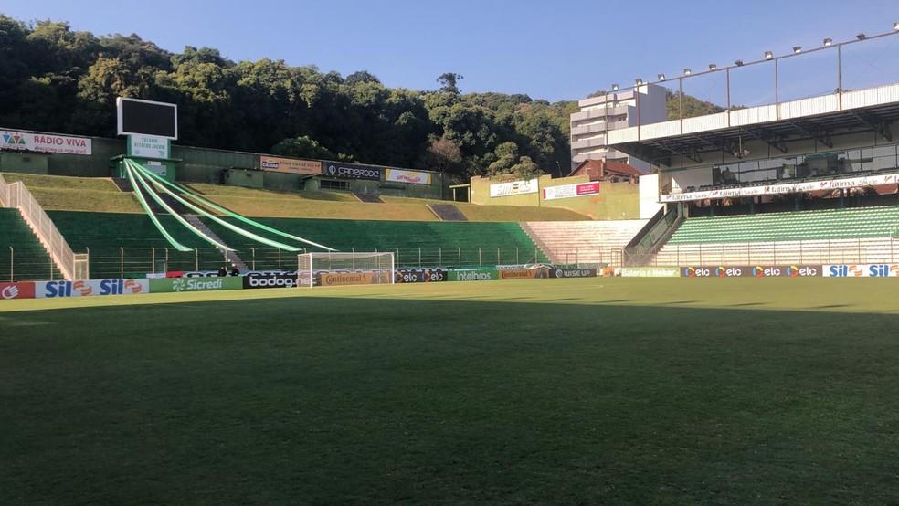 Estádio Alfredo Jaconi, em Caxias do Sul, recebe o jogo Juventude x CRB — Foto: Divulgação/América FC