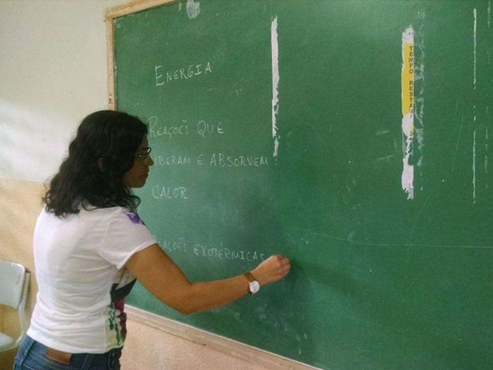 Concurso tem vagas para professores — Foto: Wagner Lima/G1 PB