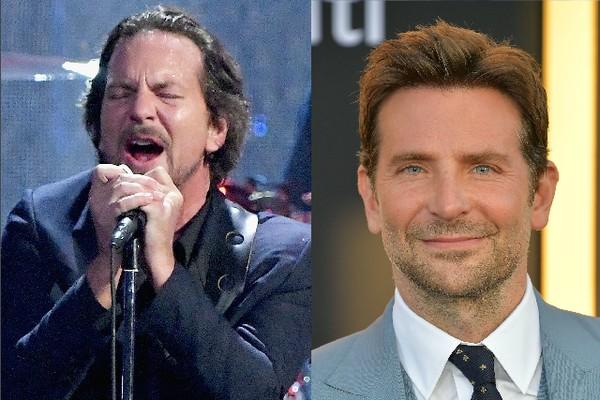 Eddie Vedder e Bradley Cooper (Foto: Getty Images)