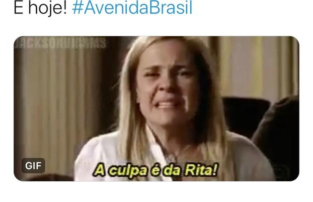 Memes de 'Avenida Brasil' (Foto: Reprodução/Twitter)