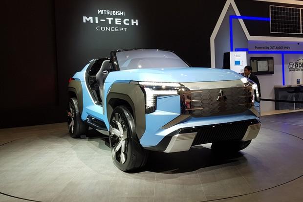 Mitsubishi MI-TECH Concept (Foto: Ulisses Cavalcante/Autoesporte)