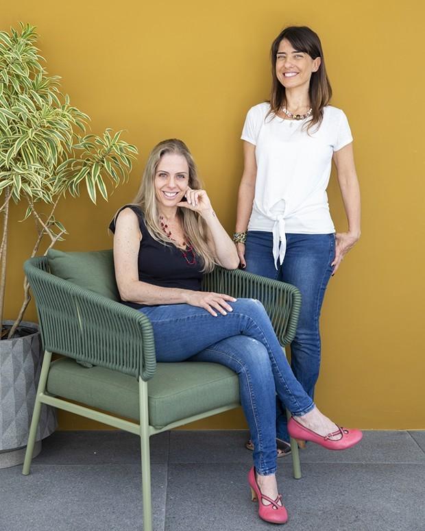 Gabriela e Camila, do Coisa de Nutri (Foto: Wesley Diego Emes)