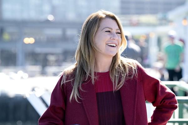 Ellen Pompeo como Meredith Grey Grey's Anatomy  (Foto: Divulgação)