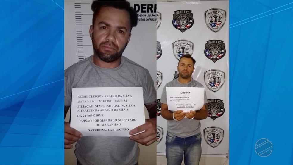 Suspeito de ter matado amigo para ficar com os bens da vítima — Foto: TVCA/Reprodução