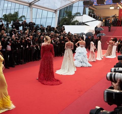 O tapete vermelho é a nova primeira fila?