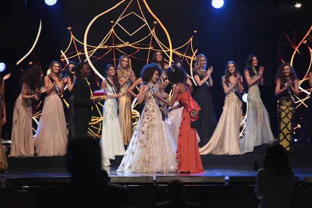Karen Porfiro é eleita a Miss São Paulo 2017 (Foto: Renata DAlmeida / EGO)